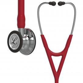 Стетоскоп Littmann Cardiology IV, бордовая трубка, зеркальная акустическая головка 69 см, 6170