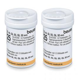 Beurer Bloodglucose test strips 50pcs