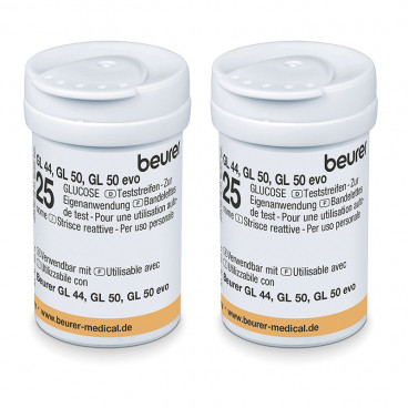 Beurer тест-полоски для глюкометра 50шт.